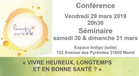Conférence & Atelier « Vivre heureux, longtemps et en bonne santé ? » Olivier Abossolo