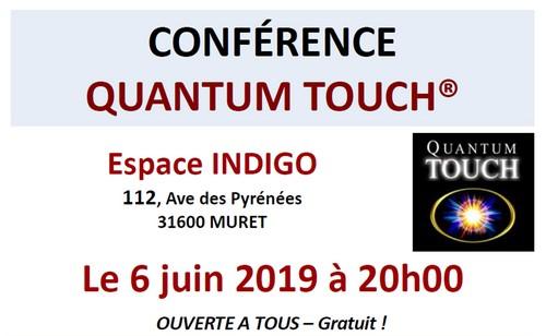Conférence QUANTUM-TOUCH 6 juin
