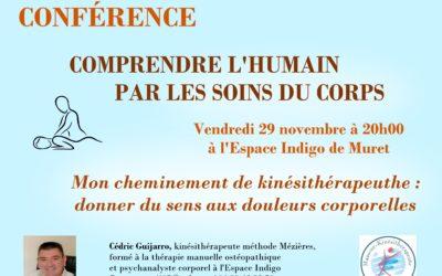 Conférence «Comprendre l'humain par les soins du corps»