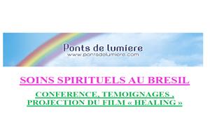 Conférence, Témoignages , PROJECTION DU FILM « HEALING »