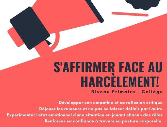 """""""S'affirmer face au harcèlement"""""""