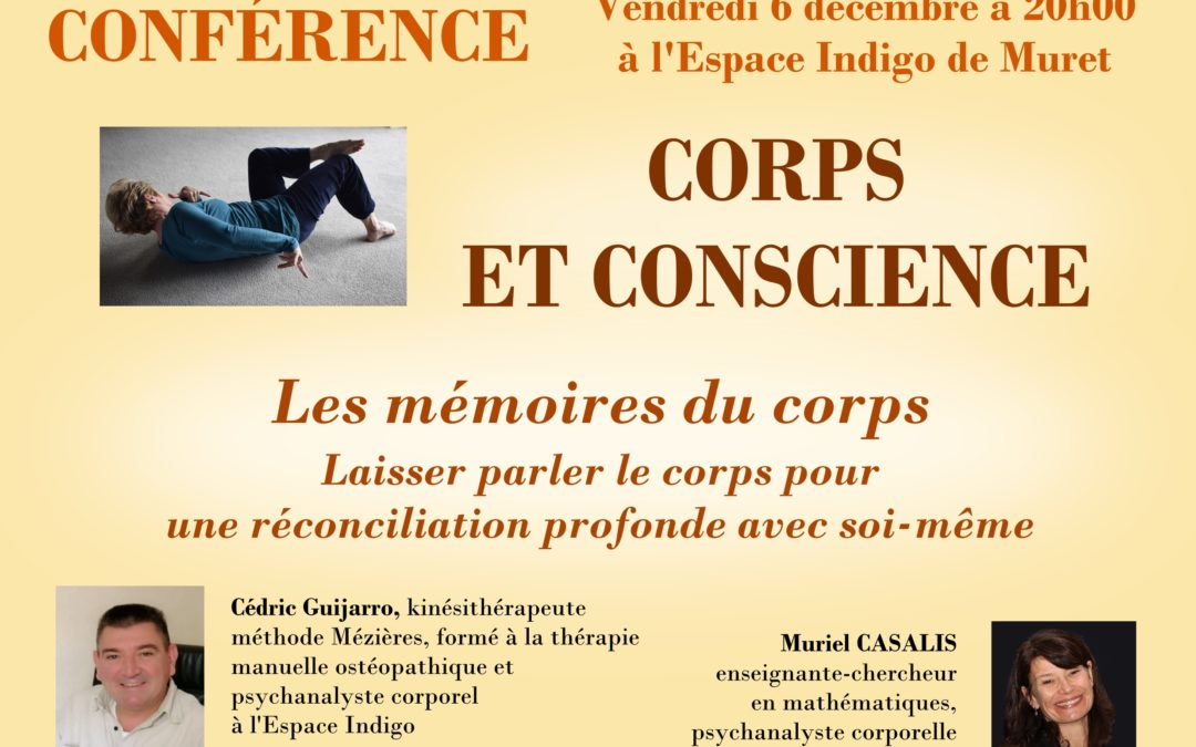 """Conférence """"Laisser parler le corps pour une réconciliation profonde avec soi-même"""""""