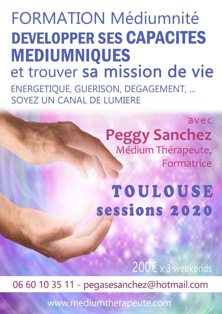 Formation Meduimnité Peggy Sanchez Muret